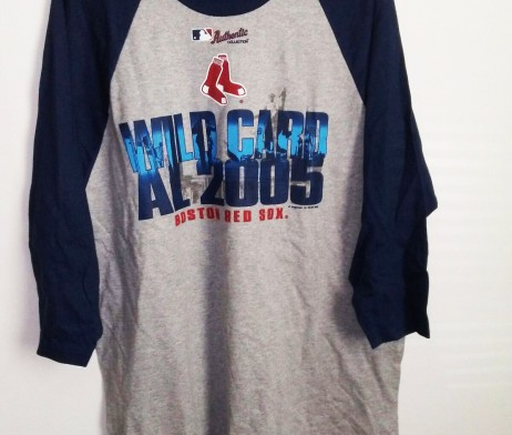 Boston Red Sox MLB Al 2005 Wild Card TShirt