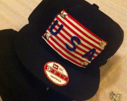 Customized USA Snapback