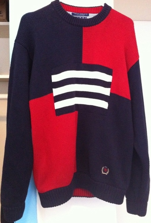 Vintage Tommy Hilfiger Crew Neck Sweater1