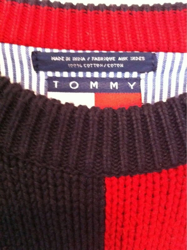 Vintage Tommy Hilfiger Crew Neck Sweater2