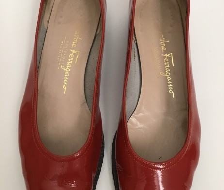 Salvatore Ferragamo Made In Italy Leather Women Flats