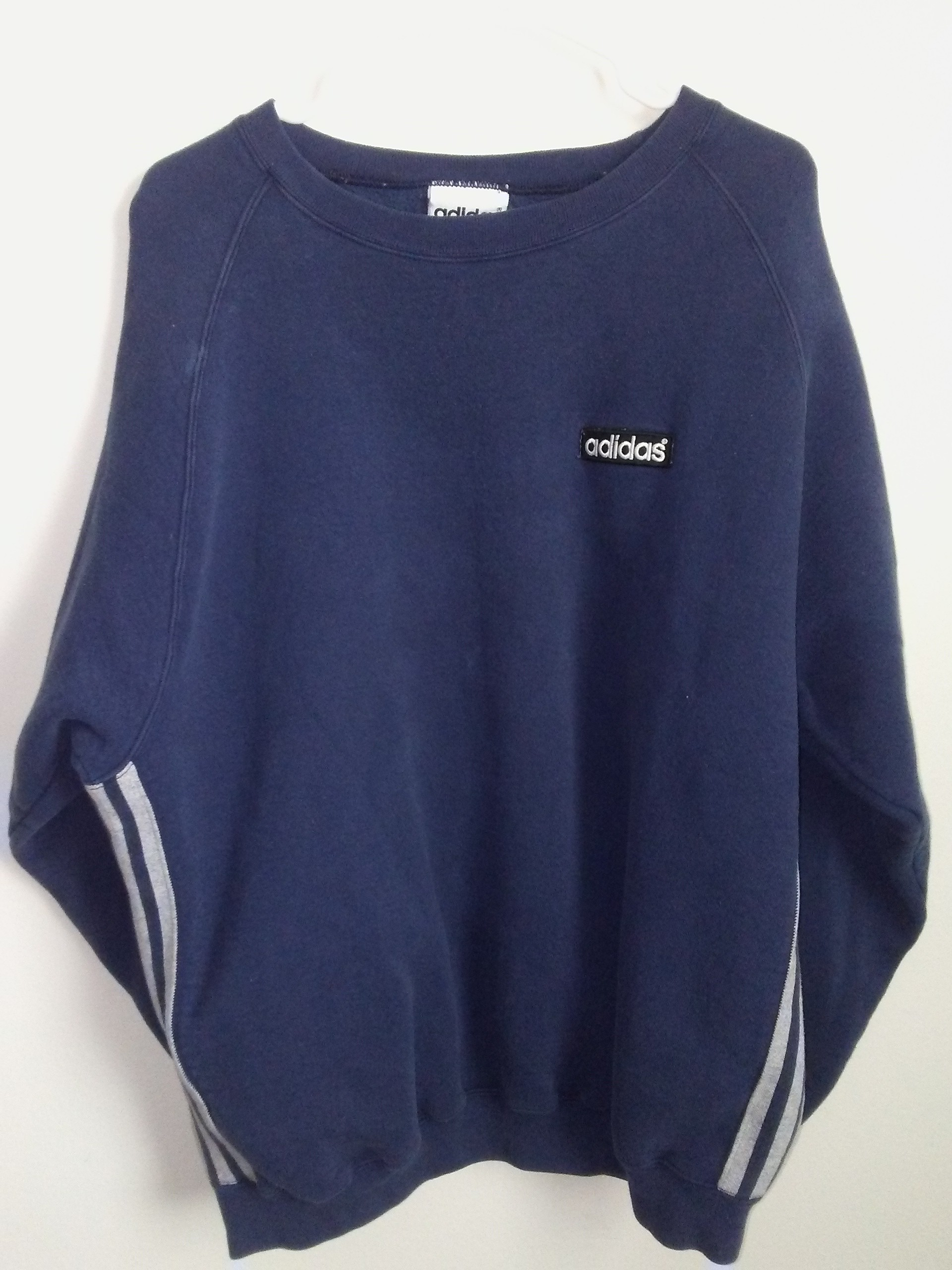 vintage 90s Made in USA blue sweater
