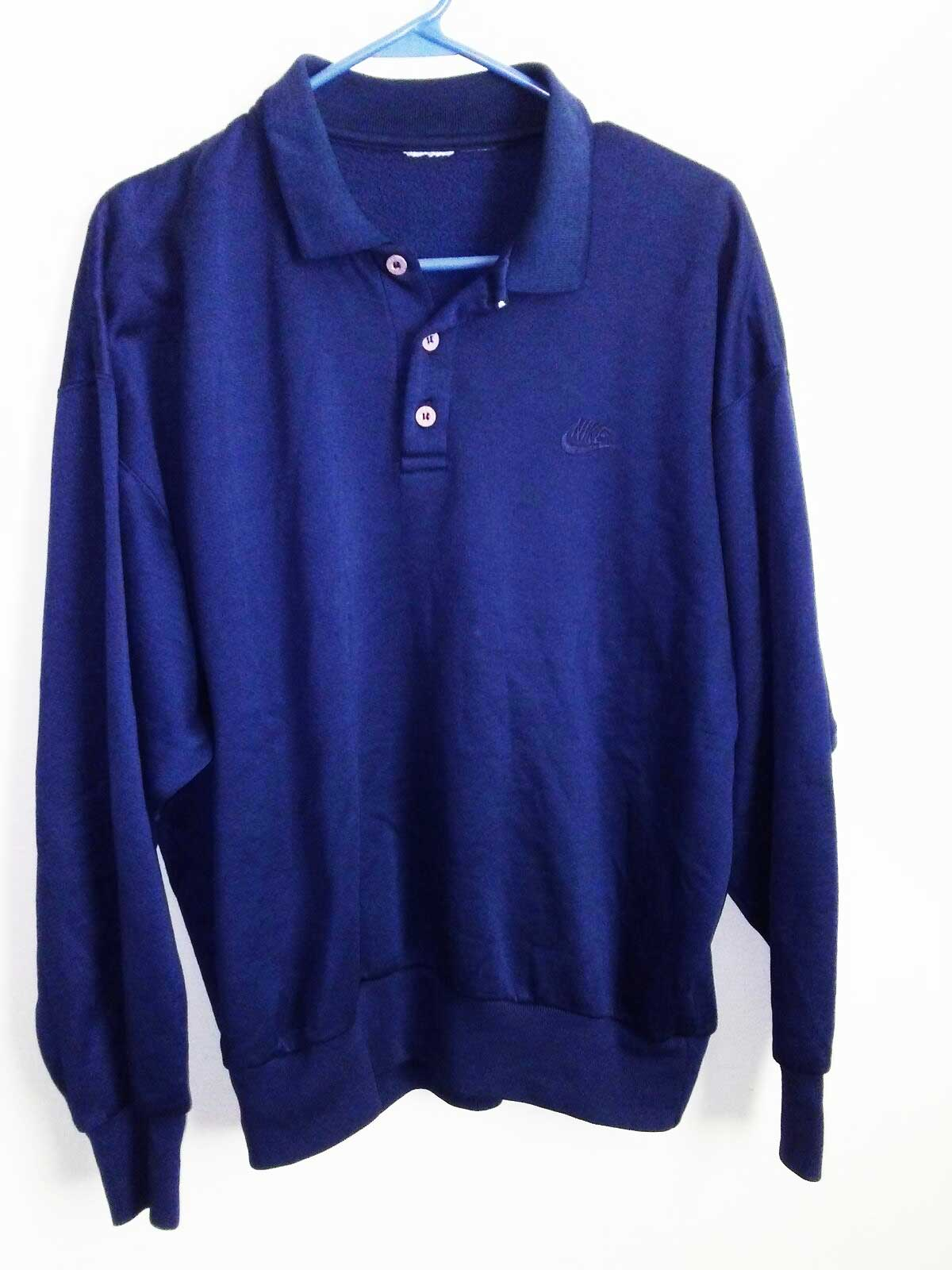 Nike Long Sleeves Vintage Golf Shirt