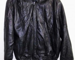 Christian Dior Le Connaisseur Black Leather Jacket